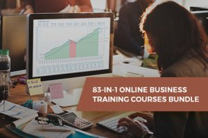 83-in-1 Online Business Training Courses Bundle