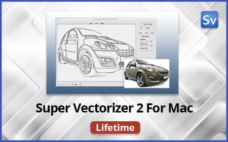 Super Vectorizer 2 - An Ultimate Image Vectorizer Tool for Mac