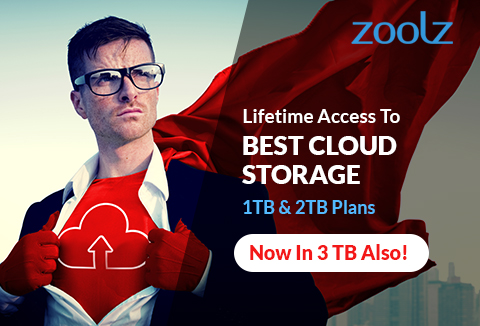 Lifetime Access to Best Cloud Storage Services, Now Available In 3TB!