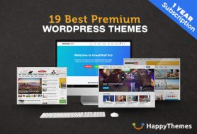 19 Best Premium WordPress Themes With 1 Year Subscription!