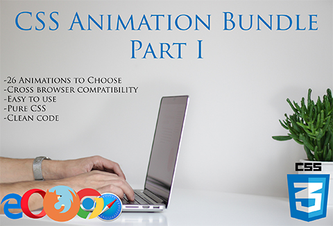 An Awesomely Interactive CSS Animation Bundle With 26 Hover Effects