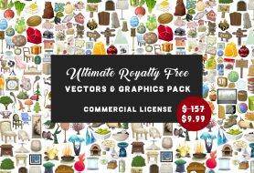 Ultimate Royalty Free Vectors & Graphics Pack