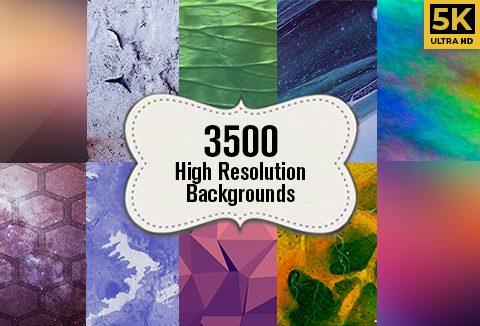 3500+ high resolution backgrounds bundle