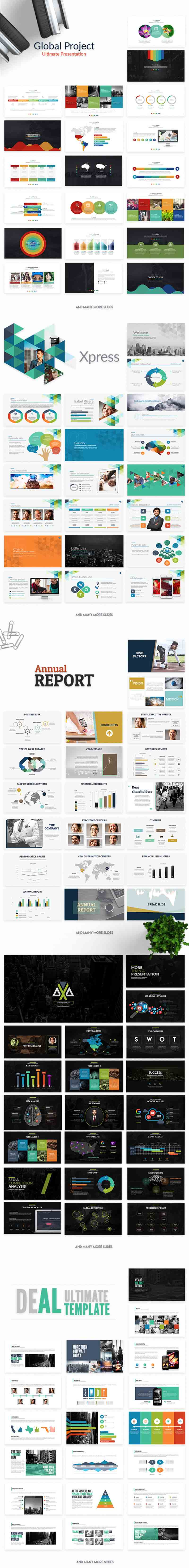 Powerpoint & Keynote Templates Cover 2