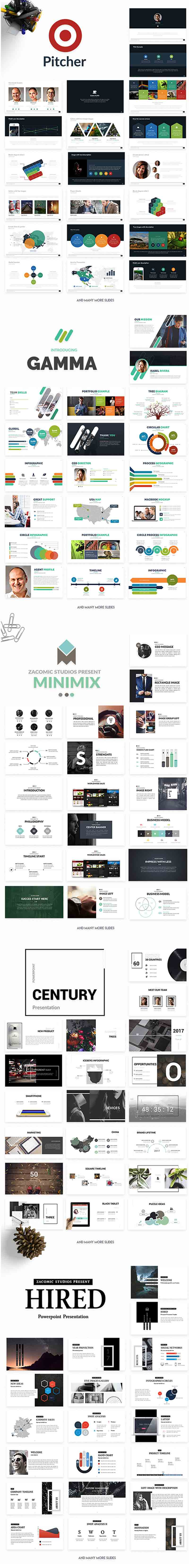 Powerpoint & Keynote Templates 3