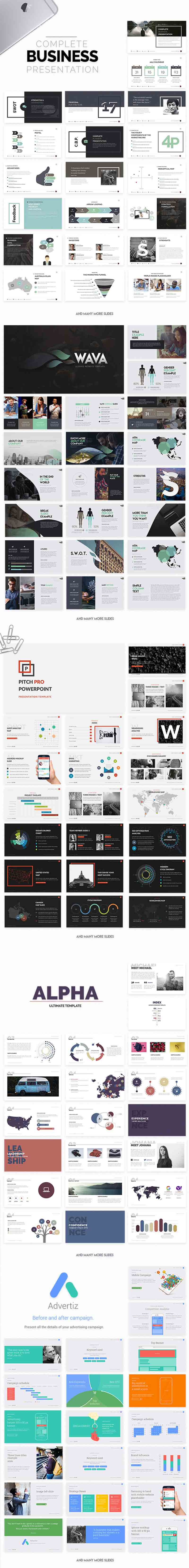 Powerpoint & Keynote Templates 1