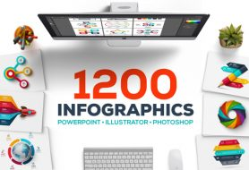 The Biggest Bundle Ever Of 1200 Interactive Infographic Templates