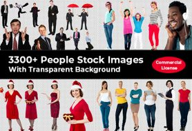 3300+ People Stock Images With Transparent Background