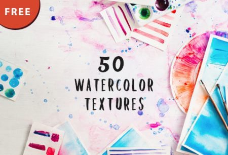 50 Free Watercolor Textures