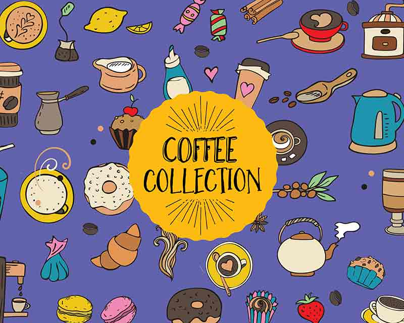 The Tiny Joy Kids Vector Bundle - Coffee Collection