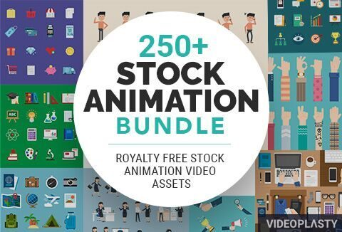 250+ Stock Animation Bundle