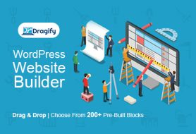 Dragify WordPress Site Builder