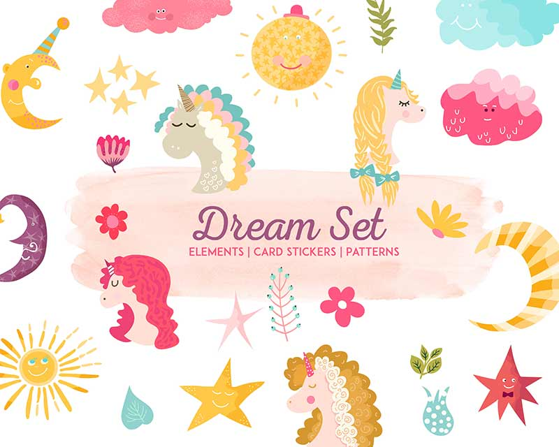 The Tiny Joy Kids Vector Bundle - Dream Set