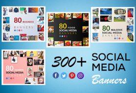 300-social-media-banner-templates