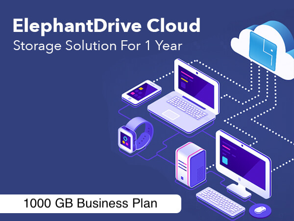 ElephantDrive Cloud Storage Solution