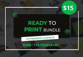 115 Ready To Print Templates Bundle