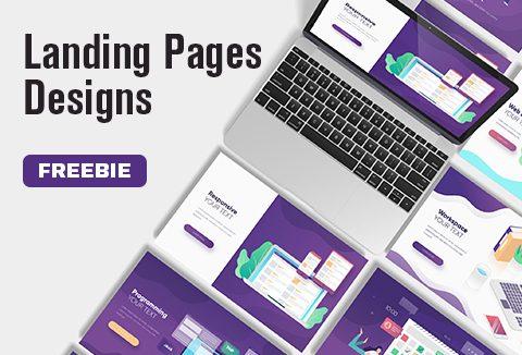 FREE Amazing Landing Page Designs | DealFuel Freebie