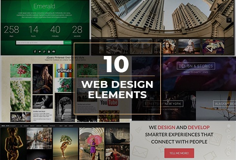 10 Web Design Elements