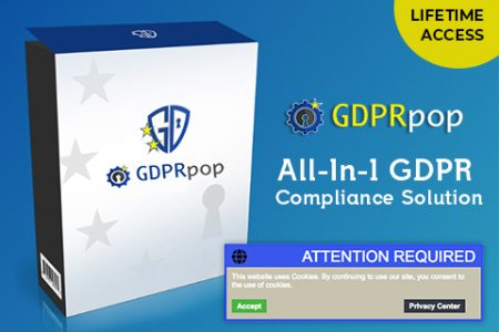 GDRPpop - An All-In-1 GDPR Compliance Solution
