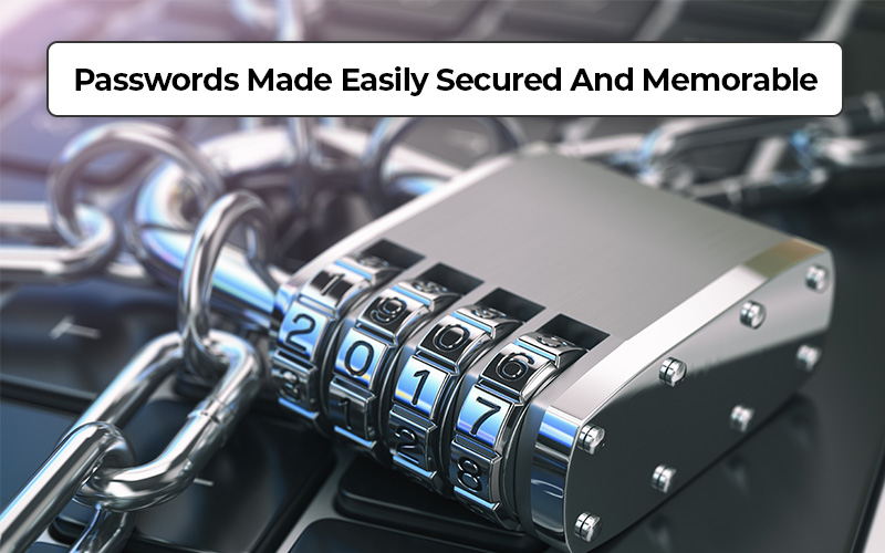 Passwords Made Easily Secured And Memorable- Secure Password Now!