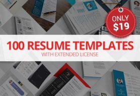 100 Best Resume Templates