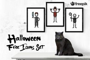 Halloween Free Icons Set Freebie