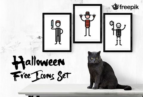 Halloween Free Icons Set Freebie