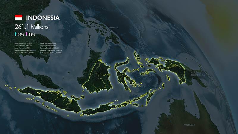 3D World Map Graphics Bundle- Preview 13