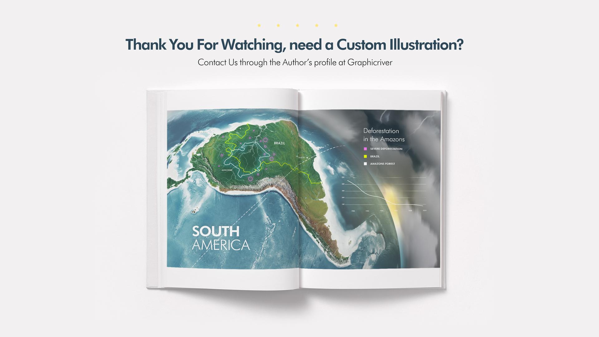 3D World Map Graphics Bundle- Preview 9