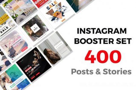 Instagram posts & stories bundle