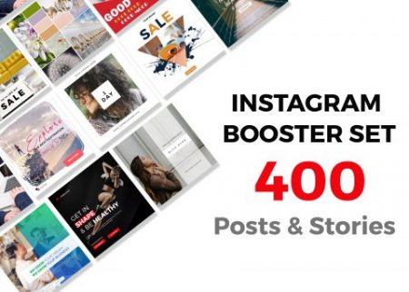 Instagram posts & stories bundle