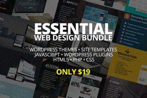 Essential Web Design Bundle For All The WordPress Ninjas