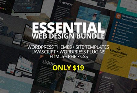 Essential Web Design Bundle For All The WordPress Ninjas