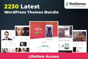 Latest WordPress Themes Bundle Of 2230+ WP Themes | LIFETIME Access