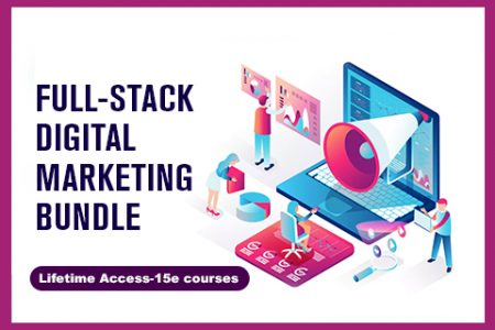 Full Stack Digital Marketing Bundle Of 15 Online Courses