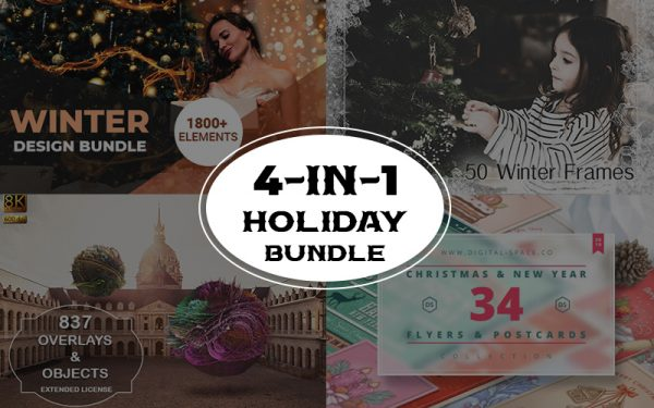 Buy 1 Get 3 Offer: 4 in 1 Holiday Bundle For 24 Hours Only