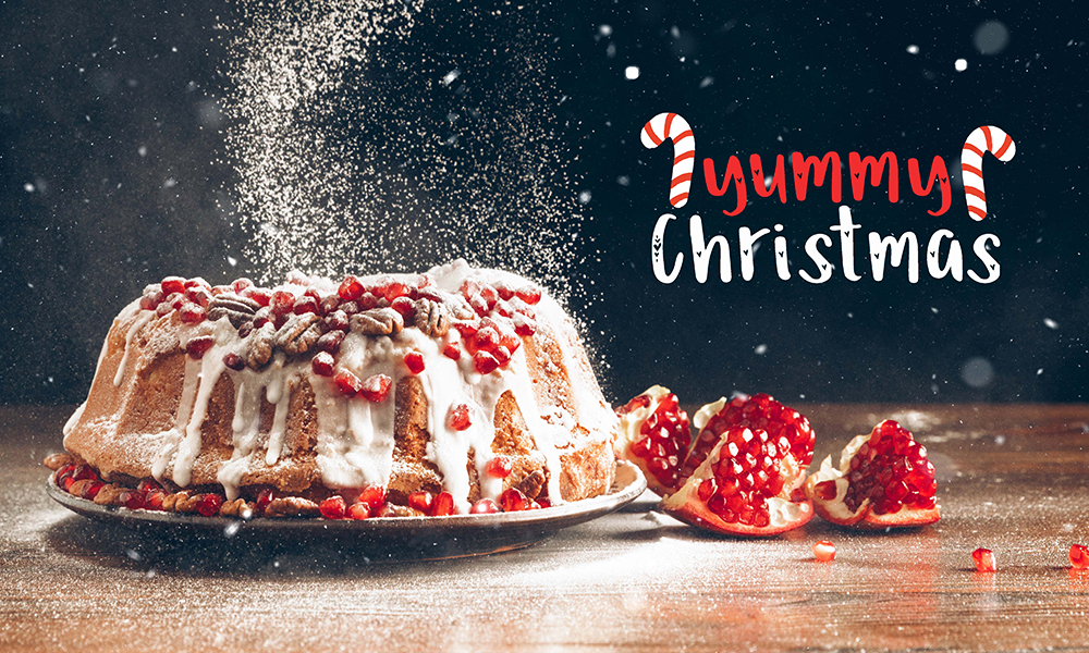 50 Photo & Text Overlays Bundle - Yummy Christmas