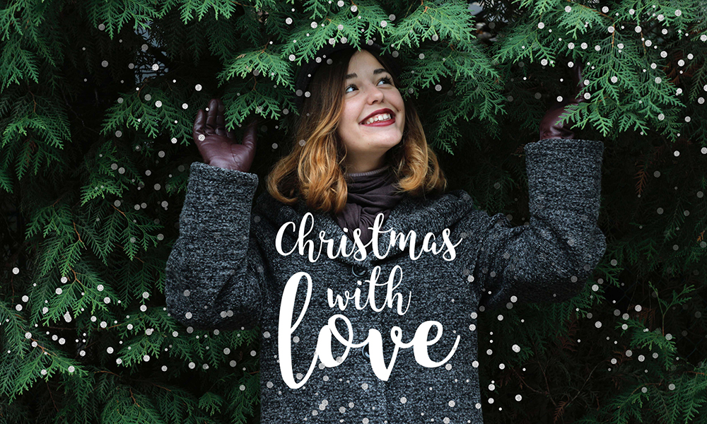 50 Photo & Text Overlays Bundle - Christmas With Love