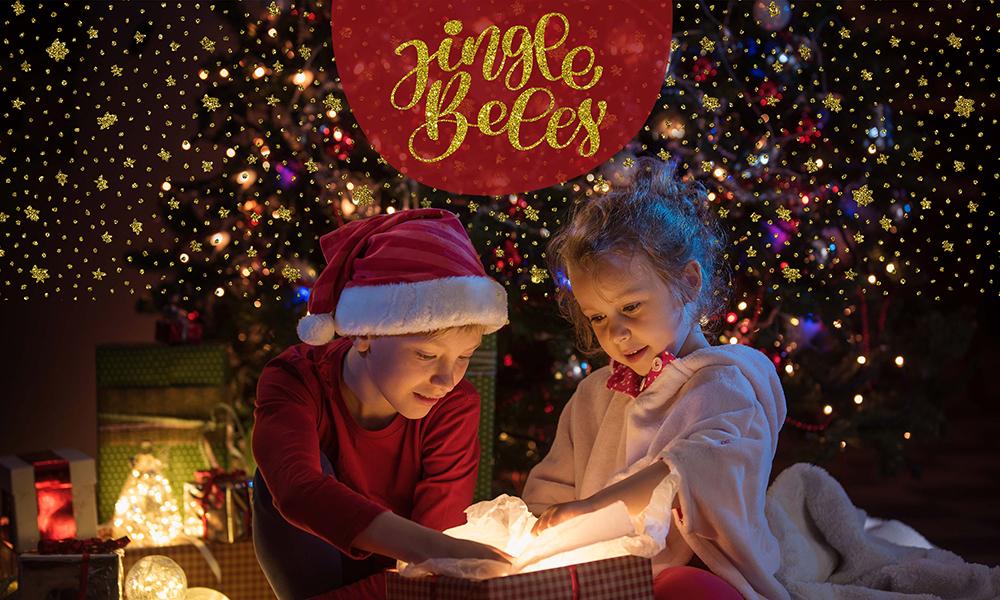 50 Photo & Text Overlays Bundle - Jingle Bells