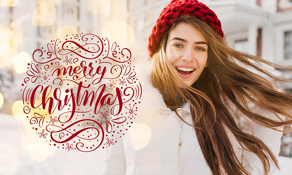 50 Photo & Text Overlays Bundle - Xmas 3