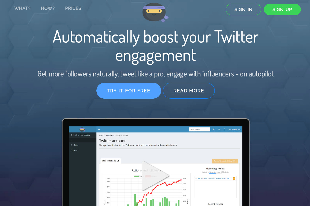 Your Very Own Twitter Expert - Twitter Ninja - Preview 1