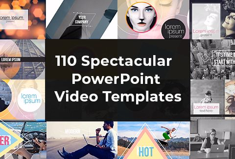 110 Spectacular PowerPoint Video Templates Mega Bundle