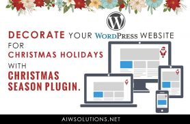 WordPress Snow Plugin For This Christmas & Holiday Season | DealFuel