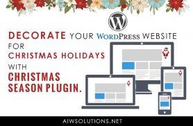WordPress Snow Plugin For This Christmas & Holiday Season | DealFuel