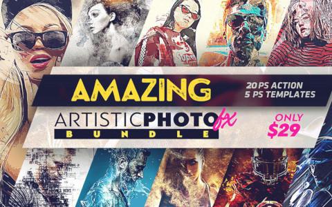 Amazing Artistic Photo Effects 480