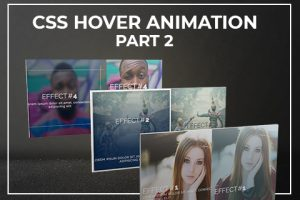 Big Bundle Of CSS Hover Animations And Image Effects