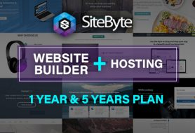 SiteByte Starter Website Builder + Droplet Hosting Plan [ 1 Yr & 5 Yrs Plan]