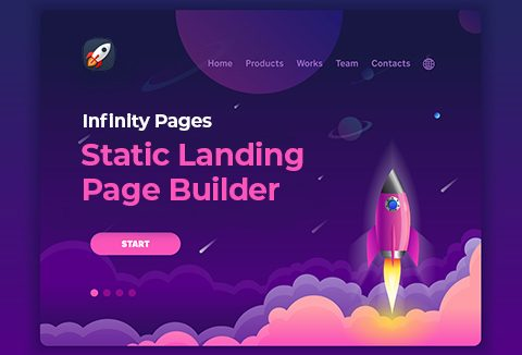 Create Unlimited Landing Pages In Seconds With Infinity Pages App