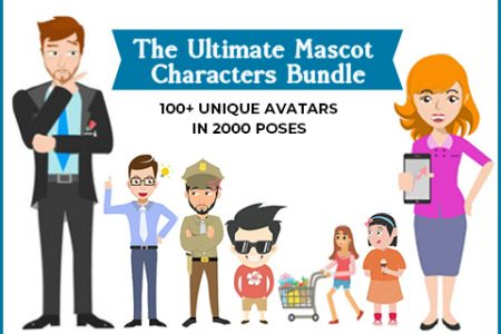 Ultimate Mascot Characters Bundle