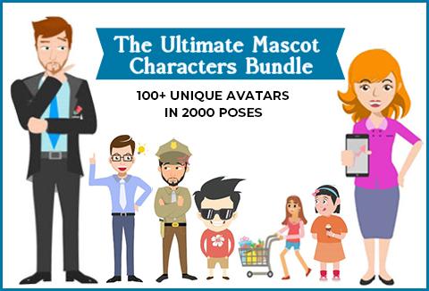 Ultimate Mascot Characters Bundle